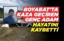 Boyabat'ta Kaza Yapan Genç Adam Hayatını Kaybetti