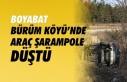 Boyabat Bürüm Köyü'nde Trafik Kazası
