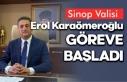 Yeni Sinop Valisi göreve başladı, İşte ilk sözleri...