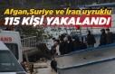 Son Dakika ! Sinop'ta 115 göçmen kıskıvrak...