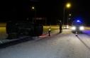 Boyabat Sinop yolunda trafik kazası !