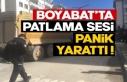 Boyabat'ta patlama sesi panik yarattı !