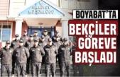 Boyabat'ta 14 Bekçi Göreve Başladı