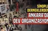 Sinoplulardan Ankara'da Dev Organizasyon