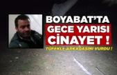 Boyabat'ta gece yarısı cinayet 1 ölü