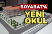 Boyabat'ta yeni okul