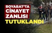 Son Dakika Boyabat'ta cinayet zanlısı tutuklandı !