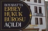 Boyabat'ta Erbey Hukuk Bürosu Hizmete Girdi