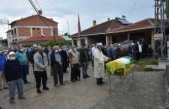 Satılmış Bayram'ın eşi Gülistan Bayram gözyaşları ve dualarla toprağa verildi.