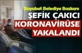 Boyabat Belediye Başkanı Şefik Çakıcı Koronavirüse yakalandı