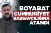 Boyabat Cumhuriyet Başsavcılığına Habibullah Keser atandı