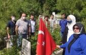 Boyabat Ülkü Ocakları tarafından ülkücü şehitler mezarları başında anıldı