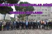 Boyabat'ta 19 Ekim Muhtarlar Günü kutlandı
