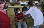 Boyabat'ta Kovid-19 mobil aşı uygulaması