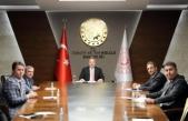 Maviş'in Sinop heyetiyle teşekkür ziyaretleri