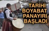 Türkiye'nin en eski panayırlarından Boyabat Panayırı başladı
