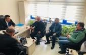 Sinop 15 Eylül Gazeteciler Cemiyetinden İl Emniyet Müdürlüğüne taziye ziyareti