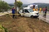 Yaykıl Mevkiinde Trafik Kazası 1 Ölü 3 Yaralı