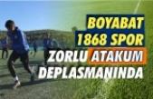 Boyabat 1868 Spor Samsun deplasmanına gidiyor