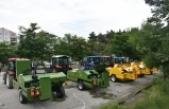 Boyabat çiftçisine yüzde elli hibeli balya makinesi desteği