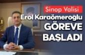 Yeni Sinop Valisi göreve başladı, İşte ilk sözleri ...