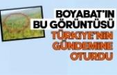 Boyabat'ın bu görüntüsü Türkiye gündemine oturdu