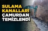 DSİ Boyabat'ta sulama kanallarını temizliyor
