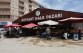 Boyabat'ta 10 gün sonra halk pazarı kuruldu