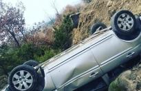 Boyabat Bayamca Yolunda Trafik Kazası