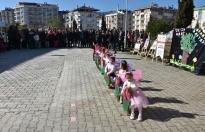 Boyabat'ta Minikler Orman Haftasını Kutladı