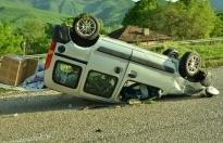 Boyabat Yolunda Trafik Kazası 1'i Ağır 2 Yaralı