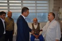 Başkan Çakıcı Boyabat 75.Yıl Devlet Hastanesi'ni Ziyaret Etti