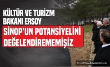 Kültür ve Turizm Bakanı Mehmet Ersoy Sinop'ta