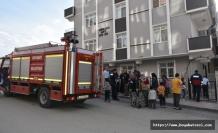 Boyabat'ta Asansöre Sıkışan Çocuk Ağır Yaralandı