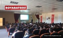 Boyabat Meslek Yüksekokulu öğrencilerine DGS Semineri