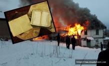 Kül olan evden yanmamış Kur'an-ı Kerim çıktı