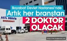 Boyabat Devlet Hastanesi B sınıfına yükseldi