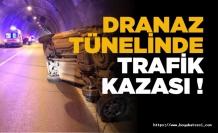 Boyabat Dranaz Tüneli'nde trafik kazası !