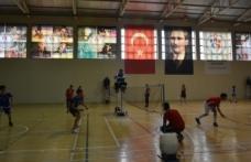 Boyabat'ta badminton Sinop il seçmeleri yapıldı