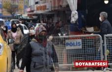 Boyabat Pazar Yerinde geniş güvenlik önlemi alındı