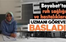Boyabat Devlet Hastanesine yeni doktor