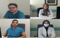 Boyabat Devlet Hastanesinde 4 doktor göreve başladı