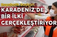 Karadeniz'in ilk ve tek gıda bankası