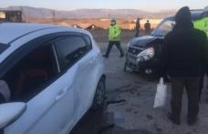 Boyabat Karacaören mevkinde trafik kazası !