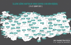 Sinop'ta vaka sayısı arttı