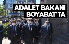 Adalet Bakanı Abdülhamit Gül Boyabat'ta