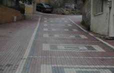 Boyabat'ta bozulan yollar onarılıyor