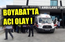 Boyabat'ta genç çocuk kazayla kardeşini vurarak öldürdü