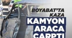 Şıhlı Köyü Yolunda Trafik Kazası