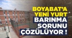 Boyabat'a Yeni Yurt,Barınma Sorunu Çözülecek !
